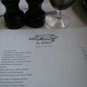 St John of Smithfield Restaurant Review